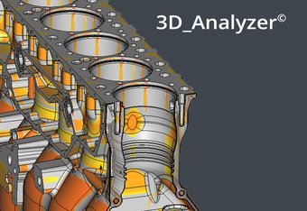 3D_Analyzer –perfect display and analysis of all common CAD formats