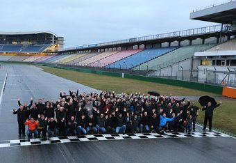 Moldex3D Usermeeting on the racetrack